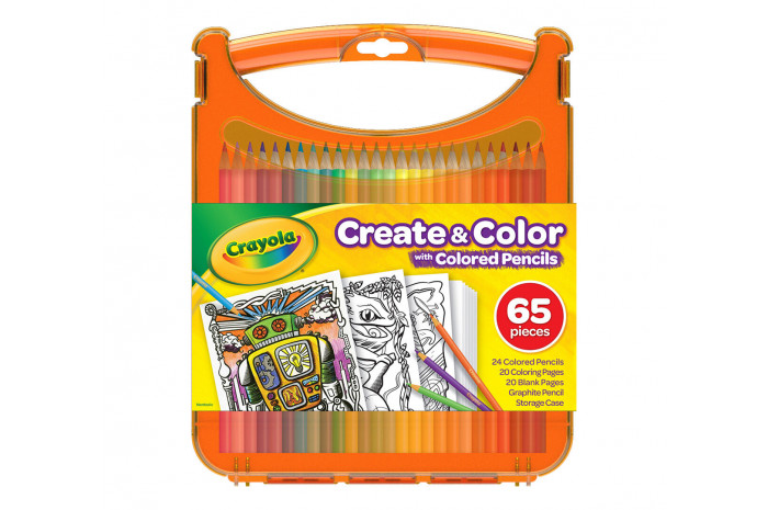 Crayola Create and Color Colored Pencils Set
