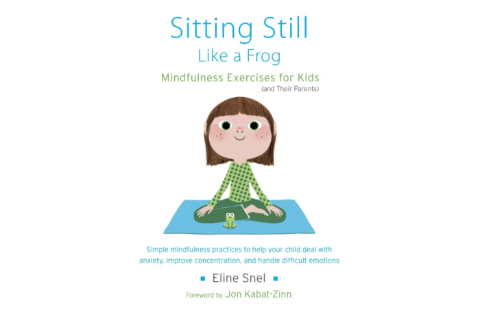 Sitting Still Like a Frog: Mindfulness Exercises for Kids (And Their Parents) with CD