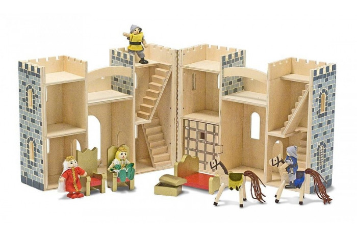 Fold and Go Castle with Figures and Accessories