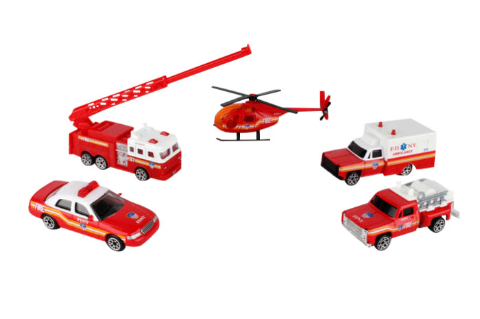 FDNY Fire & Ambulance 5 Piece Set