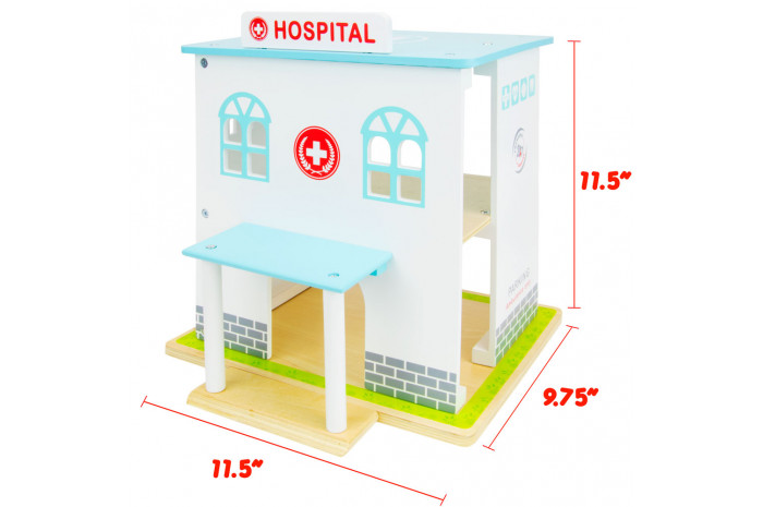 Play Hospital (14 Piece Set)