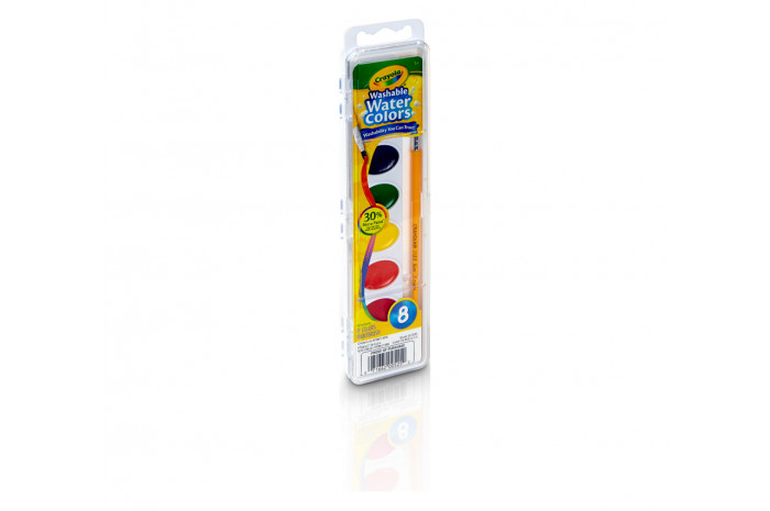 Washable Watercolors - 8 Colors