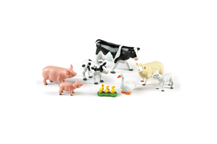 Jumbo Farm Animals: Mommas and Babies